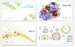 流行の名刺テンプレート trend card template vector2