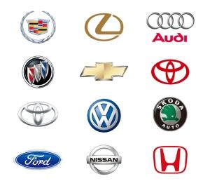 有名自動車メーカー ロゴ 12 Automobile Logos Vector