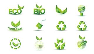 グリーン エコ アイコン セット Green Eco Icon Set