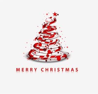 抽象的なクリスマス・ツリーの背景 creativity Christmas trees background イラスト素材