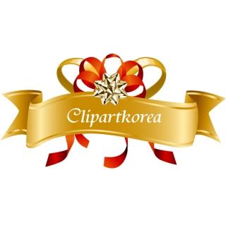 蝶結びのリボンとギフトカードのテンプレート bow ribbon gift card vector イラスト素材1