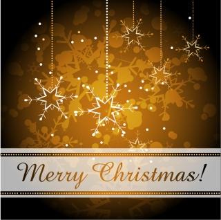雪の結晶で飾ったクリスマスの背景 snow decoration festive Christmas background イラスト素材