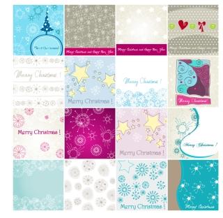 クリスマス飾りの各種素材 CHRISTMAS ELEMENT MATERIAL イラスト素材