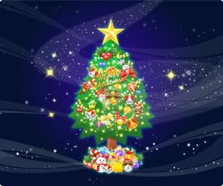 豪華なクリスマス プレゼント beautiful christmas gift vector イラスト素材2