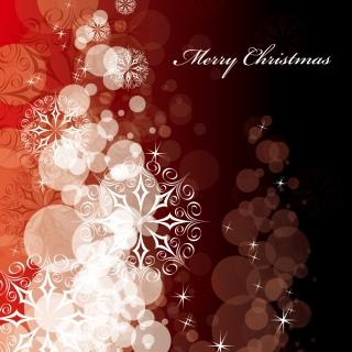 星と雪で美しく描くクリスマスの背景 beautiful christmas background vectorイラスト素材6