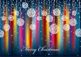 美しいクリスマス シーンの背景 beautiful christmas scene background vector イラスト素材5