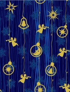 クリスマスを祝う天使の背景 angel christmas background vector イラスト素材2