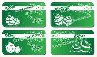 クラシックなクリスマスの背景素材 classic christmas background vector イラスト素材4