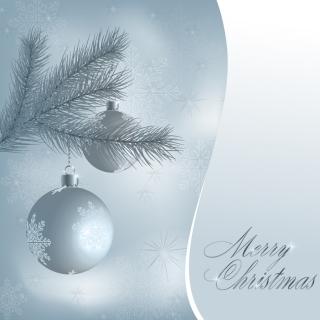 ゴージャスなクリスマス・ツリーとボール gorgeous christmas tree and the ball イラスト素材1