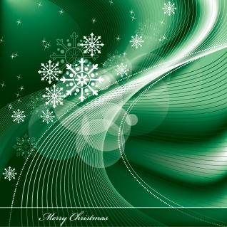 星と雪で美しく描くクリスマスの背景 beautiful christmas background vectorイラスト素材3