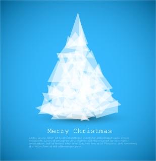 創造的なクリスマス ツリー Creative Christmas trees イラスト素材