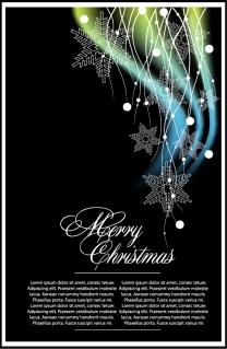 クラシックなクリスマスの背景素材 classic christmas background vector イラスト素材1