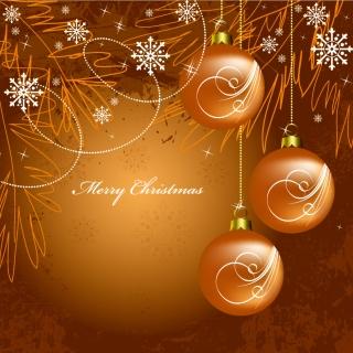 美しいクリスマス ボールの背景 christmas  decorative balls background イラスト素材4