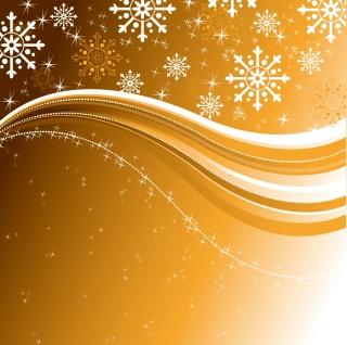 星と雪で美しく描くクリスマスの背景 beautiful christmas background vectorイラスト素材4