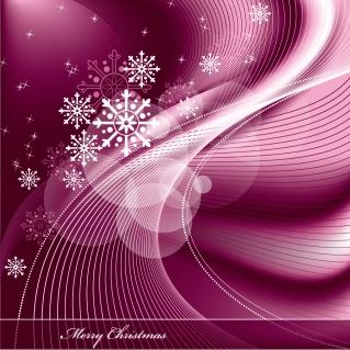 星と雪で美しく描くクリスマスの背景 beautiful christmas background vectorイラスト素材1