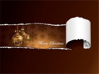 ゴージャスなクリスマス素材の背景 gorgeous christmas element vector イラスト素材3