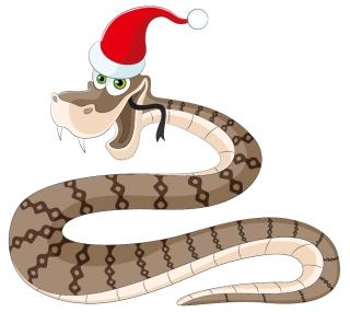 新年の干支(へび)のカード テンプレート 2013 year of the snake cards イラスト素材3