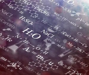 科学的な数式の背景 Scientific formulas backgrounds イラスト素材