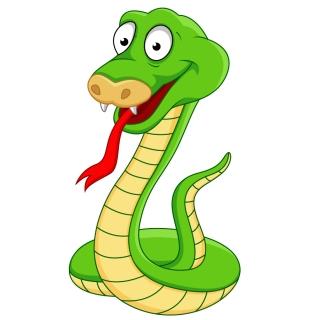 新年の干支の蛇 New Year of snake designs イラスト素材5