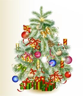 新年とクリスマスの背景 2013 New Year and Christmas cards vector イラスト素材2