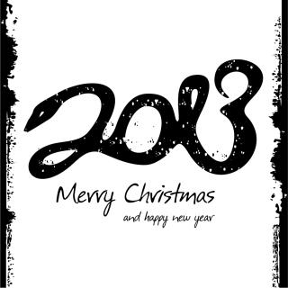 干支のへびで新年の数字を描いた背景 2013 year of snake backgrounds with stylized snake labels and logos イラスト素材4
