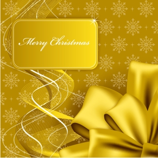 豪華なクリスマス プレゼントのパッケージ christmas gift box packaging vector イラスト素材2