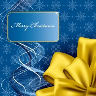 豪華なクリスマス プレゼントのパッケージ christmas gift box packaging vector イラスト素材4