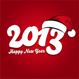 干支の蛇で象る新年の数字 New Year 2013 snake backgrounds イラスト素材3