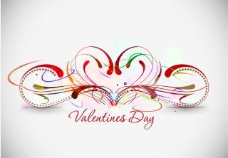 ハートを矢で射るロマンチックなバレンタインデー素材 Heart romantic valentine day graphics イラスト素材5
