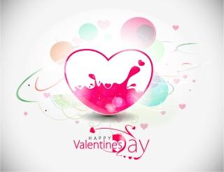 ハートを矢で射るロマンチックなバレンタインデー素材 Heart romantic valentine day graphics イラスト素材3