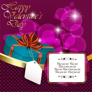 バレンタインデー ギフト ボックスの背景 Valentine's gift boxes background イラスト素材