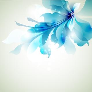 美しく輝く花弁の背景 bright fantasy flower vector イラスト素材