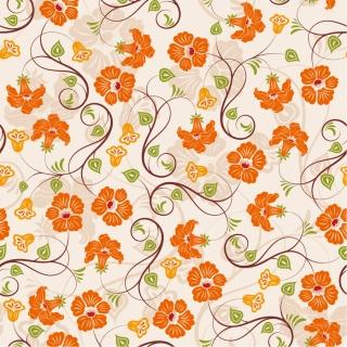 シームレスな花びらパターンの背景 petals pattern background イラスト素材