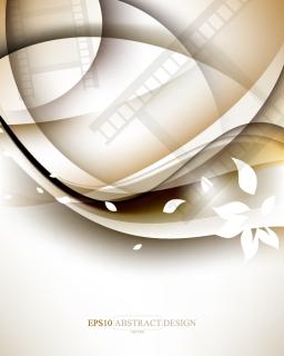 フィルムを透かしたエレガントな背景 elegant the film pattern background  イラスト素材