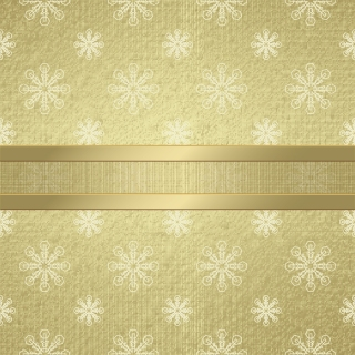 雪の結晶の帯付き表紙見本 Exquisite snowflakes patterns cover template イラスト素材