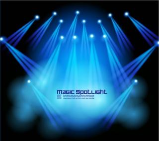 ステージの照明効果 stage lighting effects イラスト素材
