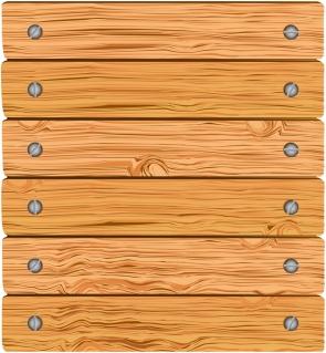 木目調のネジ止めした横板の背景 grain texture wood background イラスト素材
