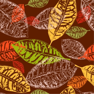 秋の枯れ葉の背景 autumn tree leaves background イラスト素材