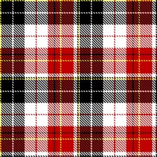 チェック柄の背景 checked pattern in black, white and red colours イラスト素材