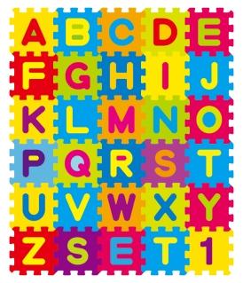 アルファベットのジグソーパズル English letters puzzles design イラスト素材