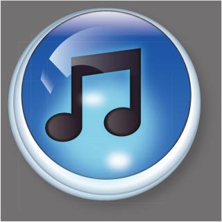 アイチューンズ ボタン Vector iTunes Button イラスト素材