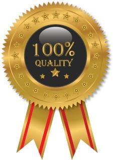 品質保証ラベル Vector Quality label イラスト素材