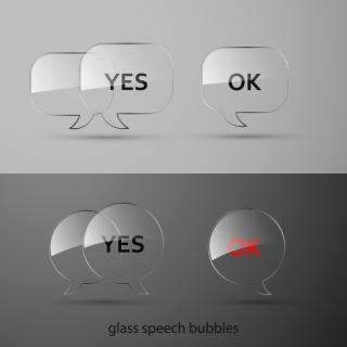 透明なガラスボタン テクスチャ glass buttons texture イラスト素材