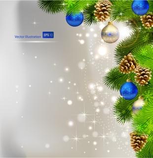 美しいクリスマスボールの背景 beautiful christmas ball background イラスト素材