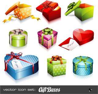 プレゼント箱のアイコン holiday gift icon イラスト素材