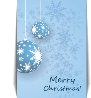 雪の結晶を描いたクリスマスボールの背景 christmas pattern background イラスト素材