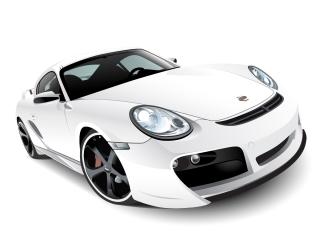 精密に描いたポルシェ Vector car Porsche GT3 イラスト素材