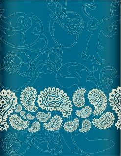 ペイズリー柄の背景 Bandana Pattern イラスト素材