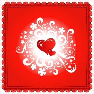 バレンタインデーのフレーム romantic happy valentine `s day borders イラスト素材