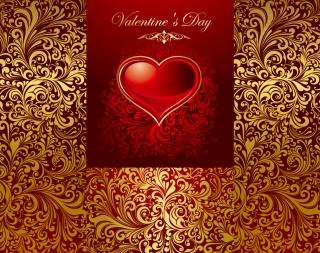 愛をテーマにしたバレンタインデー背景 love the background pattern イラスト素材2